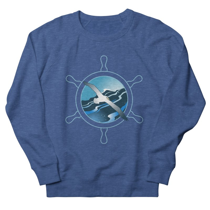Albatross 2 Women's Sweatshirt by Patricia Howitt's Artist Shop