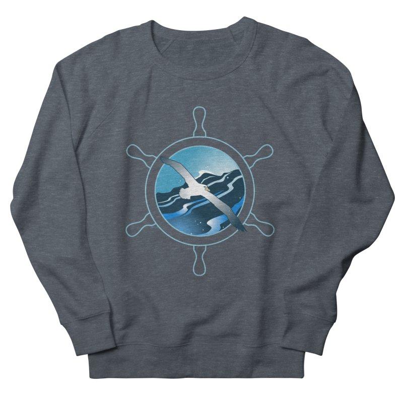 Albatross 2 Women's French Terry Sweatshirt by Patricia Howitt's Artist Shop