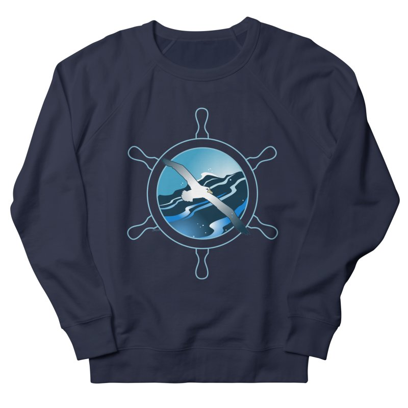 Albatross 2 Men's Sweatshirt by Patricia Howitt's Artist Shop