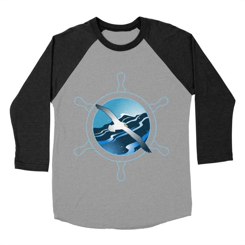 Albatross 2 Women's Baseball Triblend T-Shirt by Patricia Howitt's Artist Shop