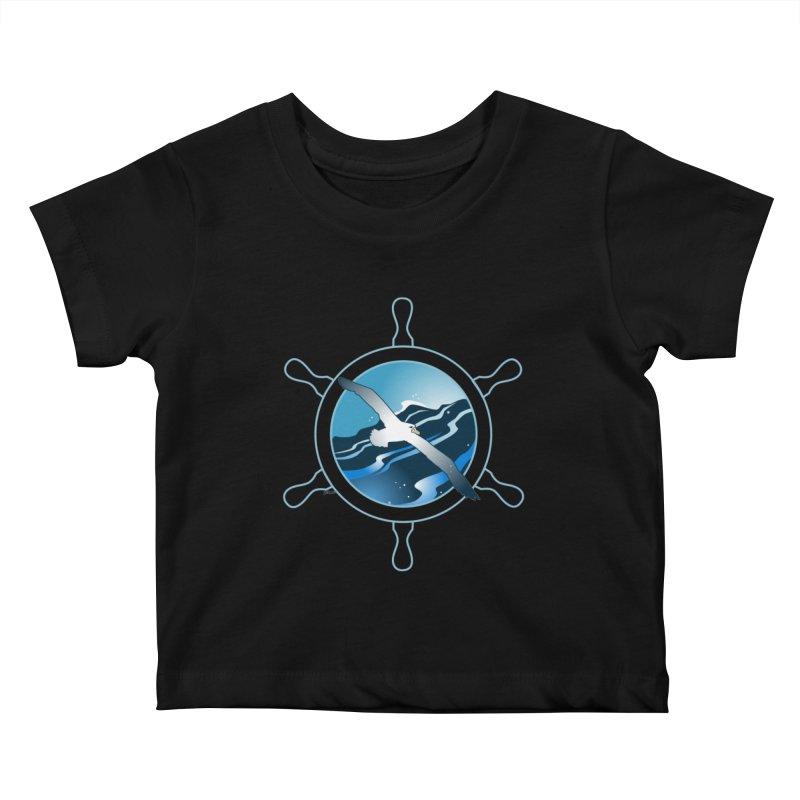 Albatross 2 Kids Baby T-Shirt by Patricia Howitt's Artist Shop