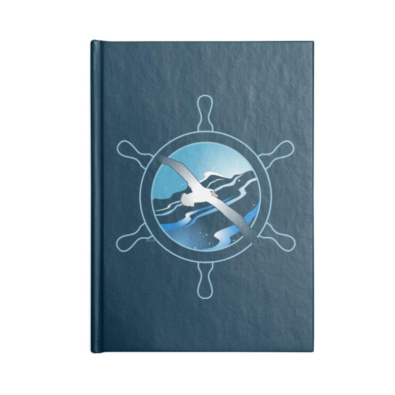 Albatross 2 Accessories Notebook by Patricia Howitt's Artist Shop