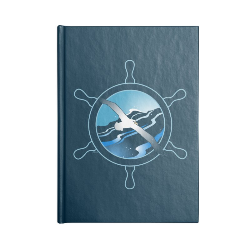Albatross 2 Accessories Notebook by Patricia Howitt's Artist Shop