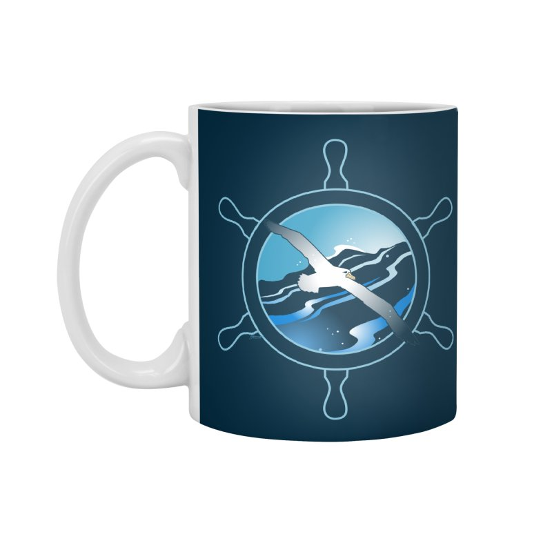 Albatross 2 Accessories Mug by Patricia Howitt's Artist Shop