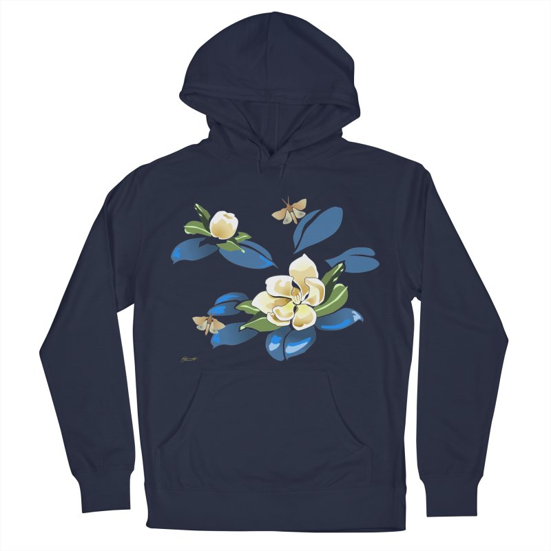 Night Magnolia Women's Pullover Hoody by Patricia Howitt's Artist Shop