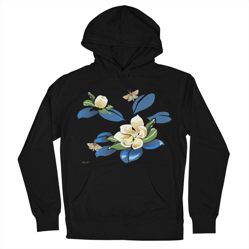 Night Magnolia Men's Pullover Hoody by Patricia Howitt's Artist Shop