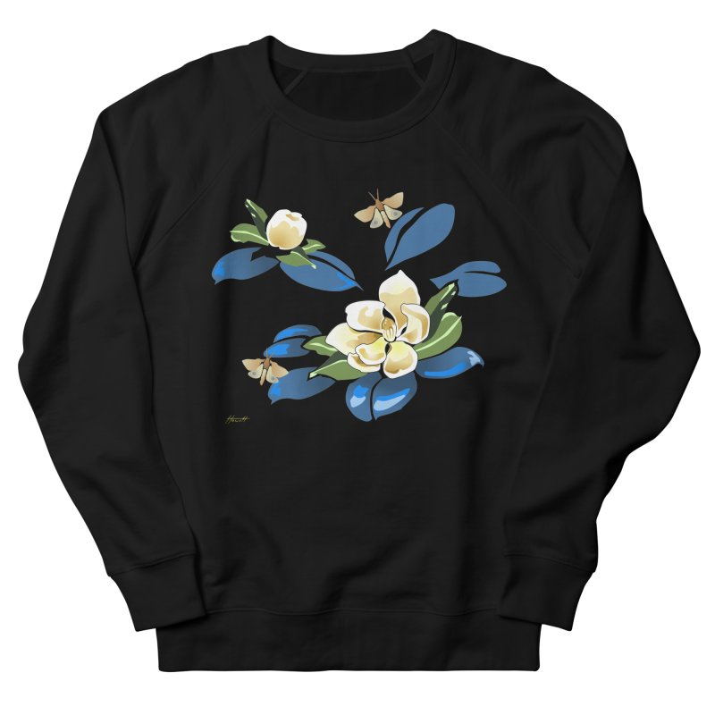 Night Magnolia Women's Sweatshirt by Patricia Howitt's Artist Shop