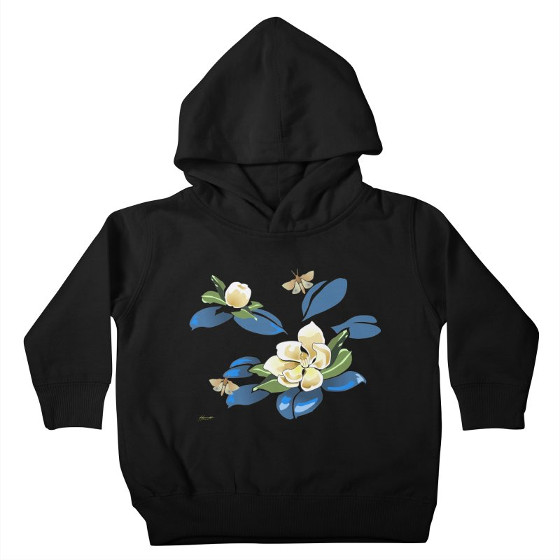 Night Magnolia Kids Toddler Pullover Hoody by Patricia Howitt's Artist Shop