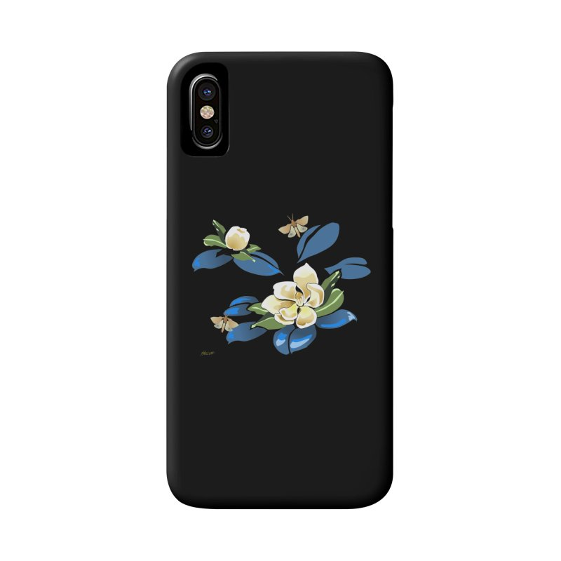 Night Magnolia Accessories Phone Case by Patricia Howitt's Artist Shop