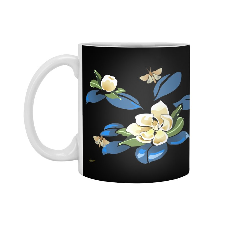 Night Magnolia Accessories Mug by Patricia Howitt's Artist Shop