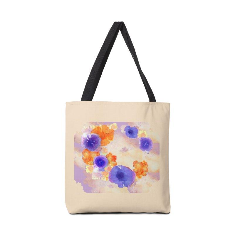 Flower Garden Accessories Bag by Patricia Howitt's Artist Shop