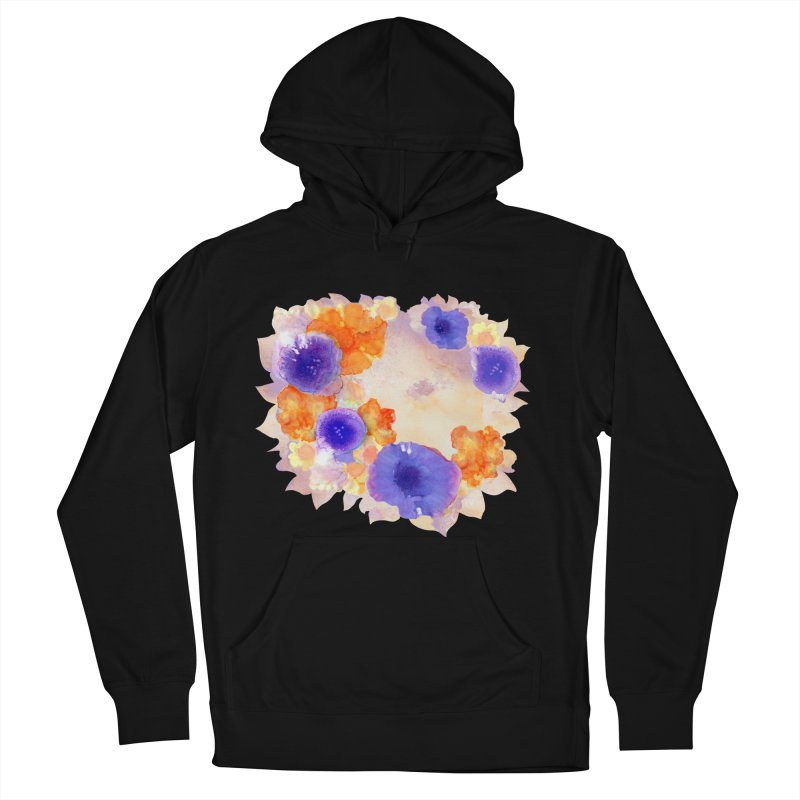 Flower Garden Women's French Terry Pullover Hoody by Patricia Howitt's Artist Shop