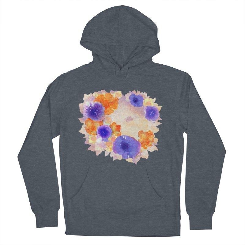 Flower Garden Men's Pullover Hoody by Patricia Howitt's Artist Shop