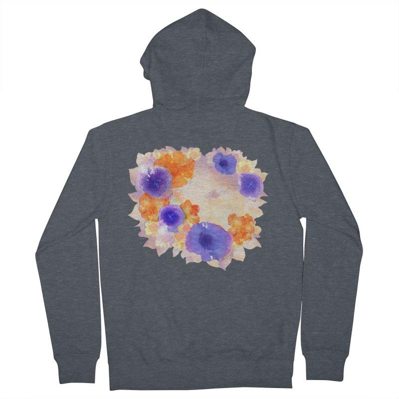 Flower Garden Women's Zip-Up Hoody by Patricia Howitt's Artist Shop