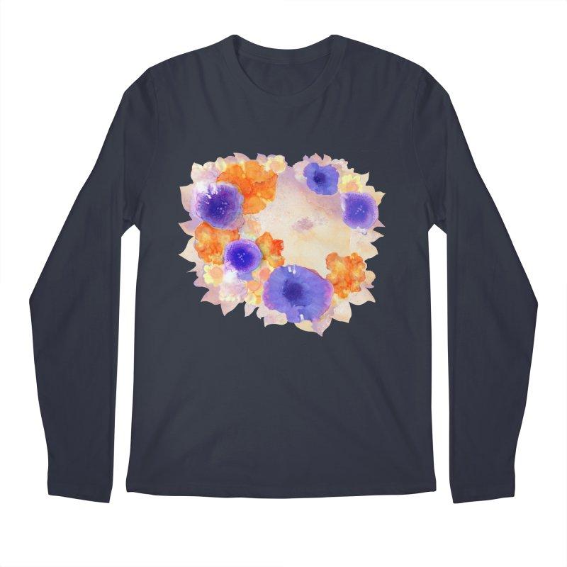 Flower Garden Men's Longsleeve T-Shirt by Patricia Howitt's Artist Shop