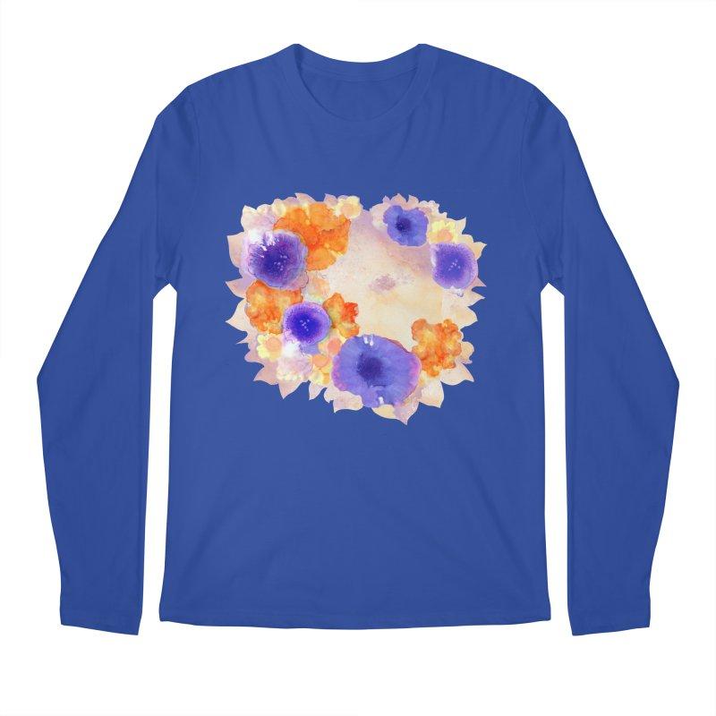 Flower Garden Men's Regular Longsleeve T-Shirt by Patricia Howitt's Artist Shop