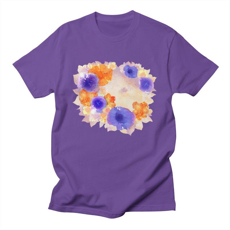 Flower Garden Women's Regular Unisex T-Shirt by Patricia Howitt's Artist Shop