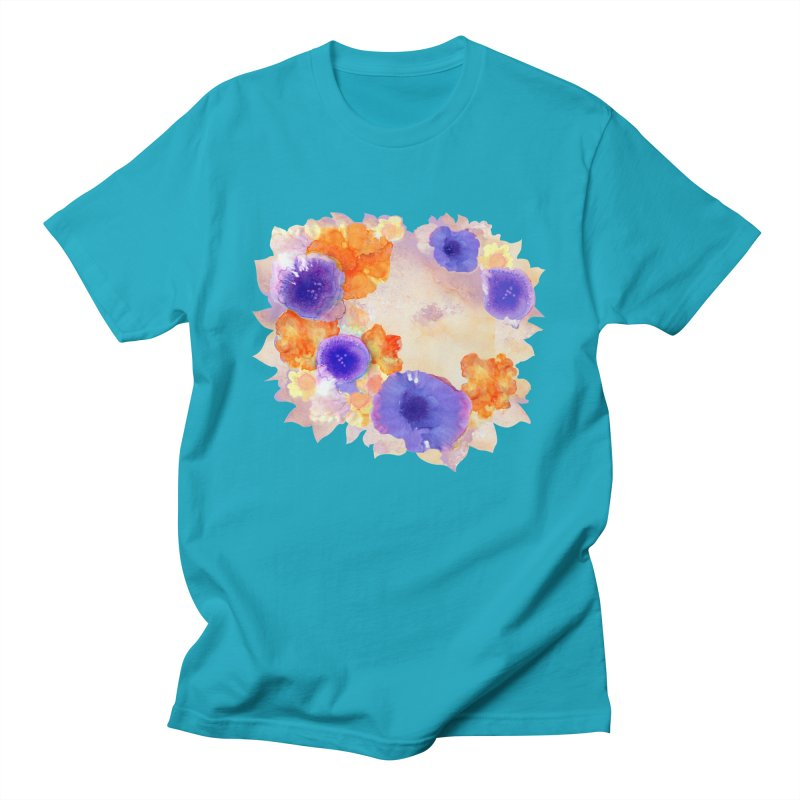 Flower Garden Men's T-Shirt by Patricia Howitt's Artist Shop