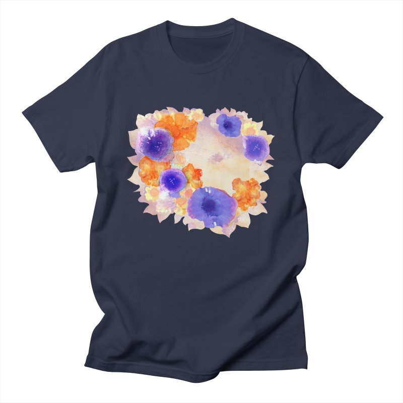 Flower Garden Women's Regular Unisex T-Shirt by Patricia Howitt's Artist Shop