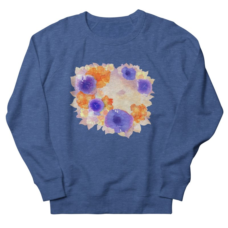Flower Garden Men's Sweatshirt by Patricia Howitt's Artist Shop