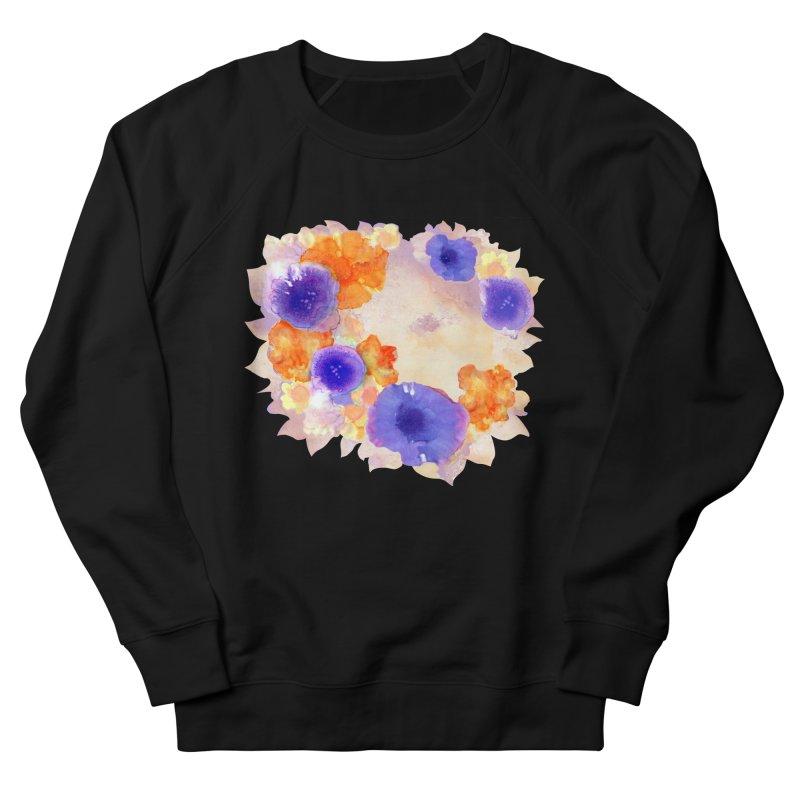 Flower Garden Men's French Terry Sweatshirt by Patricia Howitt's Artist Shop