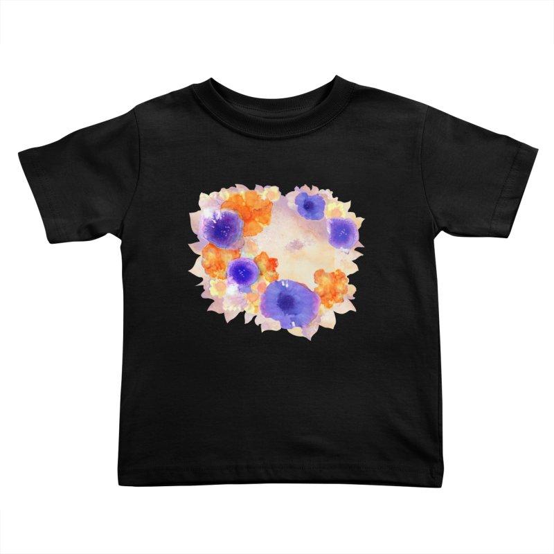 Flower Garden Kids Toddler T-Shirt by Patricia Howitt's Artist Shop