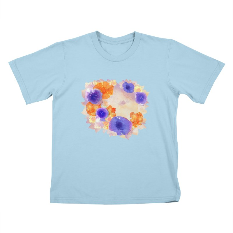 Flower Garden Kids T-Shirt by Patricia Howitt's Artist Shop