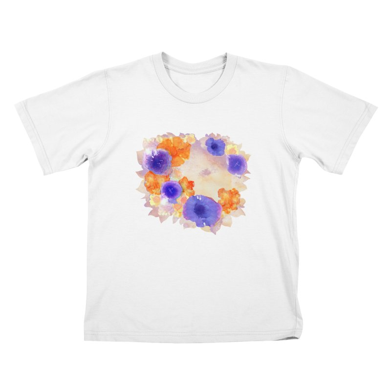 Flower Garden Kids T-shirt by Patricia Howitt's Artist Shop