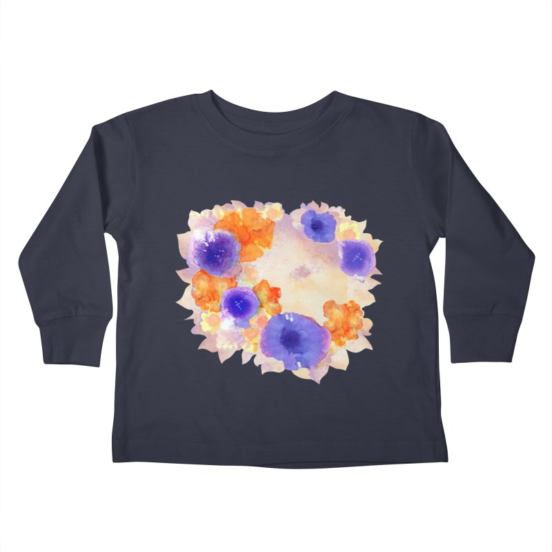 Flower Garden Kids Toddler Longsleeve T-Shirt by Patricia Howitt's Artist Shop