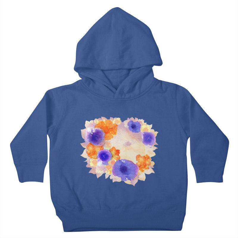 Flower Garden Kids Toddler Pullover Hoody by Patricia Howitt's Artist Shop