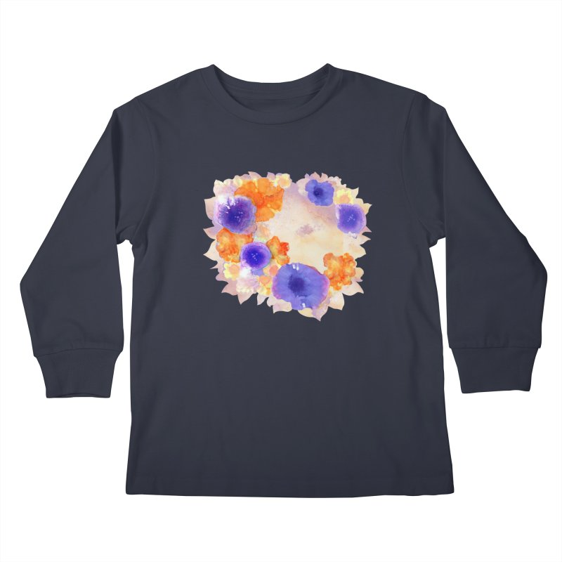 Flower Garden Kids Longsleeve T-Shirt by Patricia Howitt's Artist Shop
