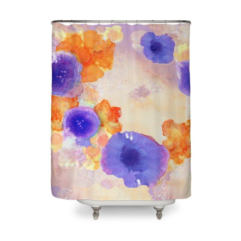 Flower Garden Home Shower Curtain by Patricia Howitt's Artist Shop
