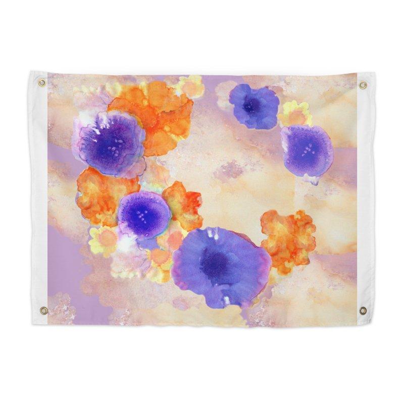Flower Garden Home Tapestry by Patricia Howitt's Artist Shop