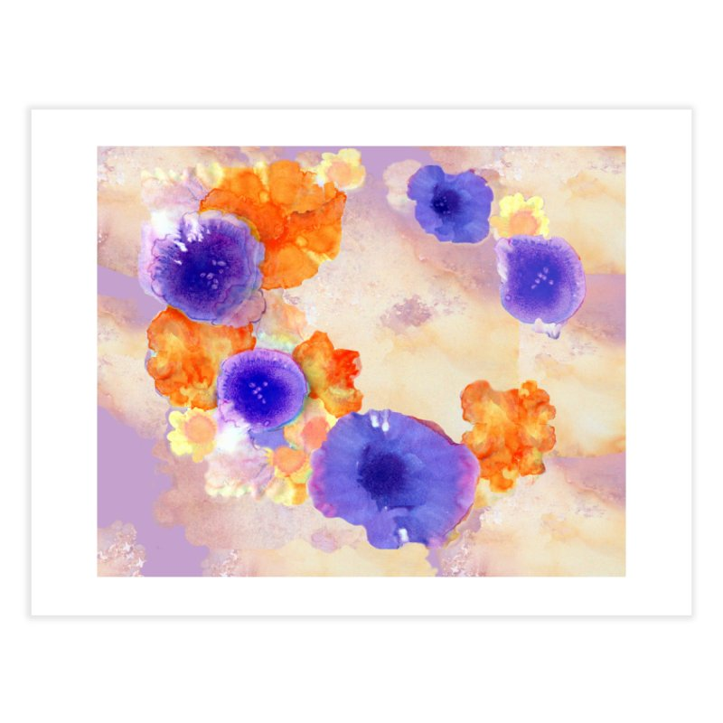 Flower Garden Home Fine Art Print by Patricia Howitt's Artist Shop
