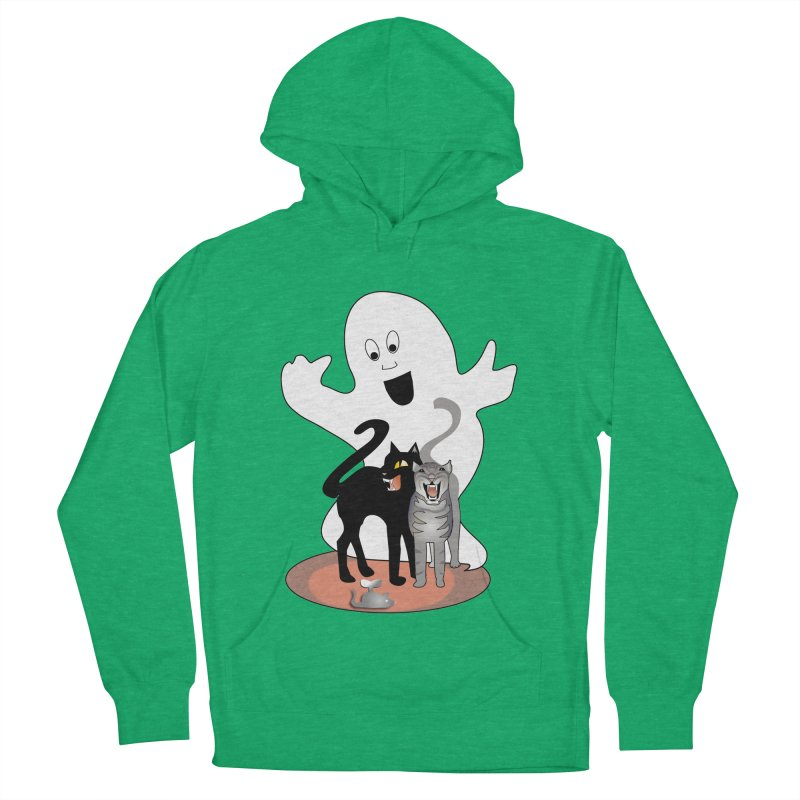 Scaredy Men's Pullover Hoody by Patricia Howitt's Artist Shop