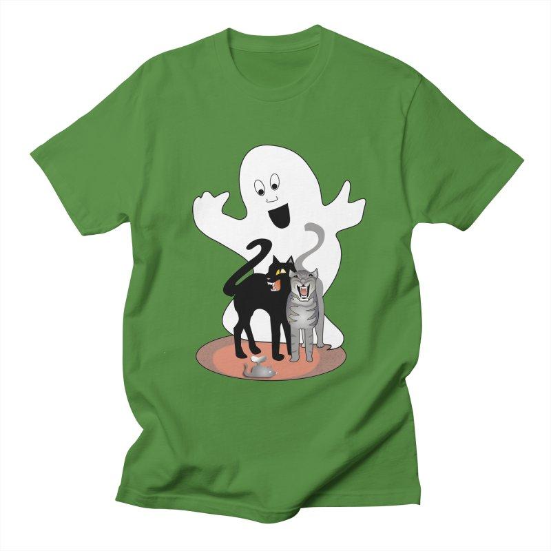 Scaredy Women's Regular Unisex T-Shirt by Patricia Howitt's Artist Shop