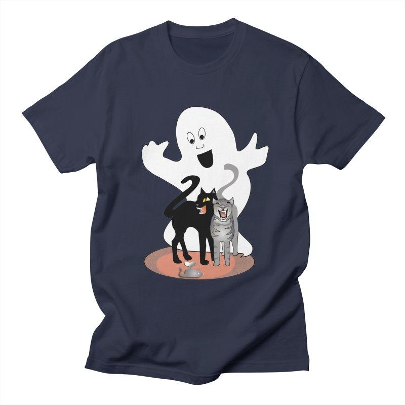 Scaredy Men's T-shirt by Patricia Howitt's Artist Shop