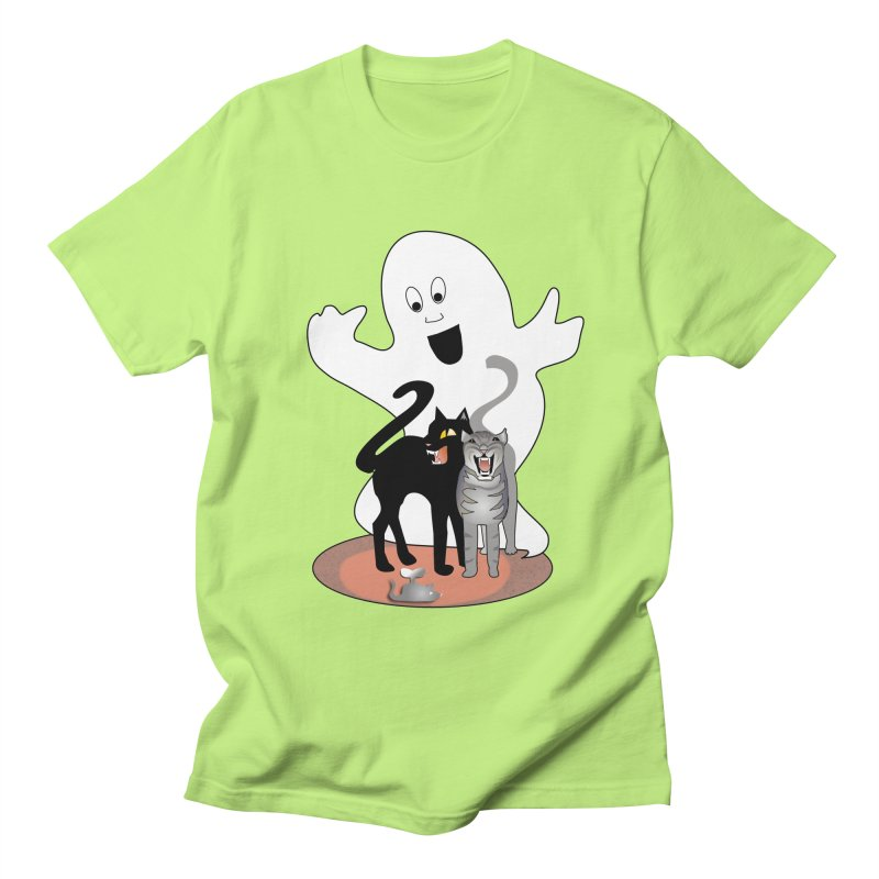 Scaredy Women's Regular Unisex T-Shirt by Patricia Howitt's Artist Shop