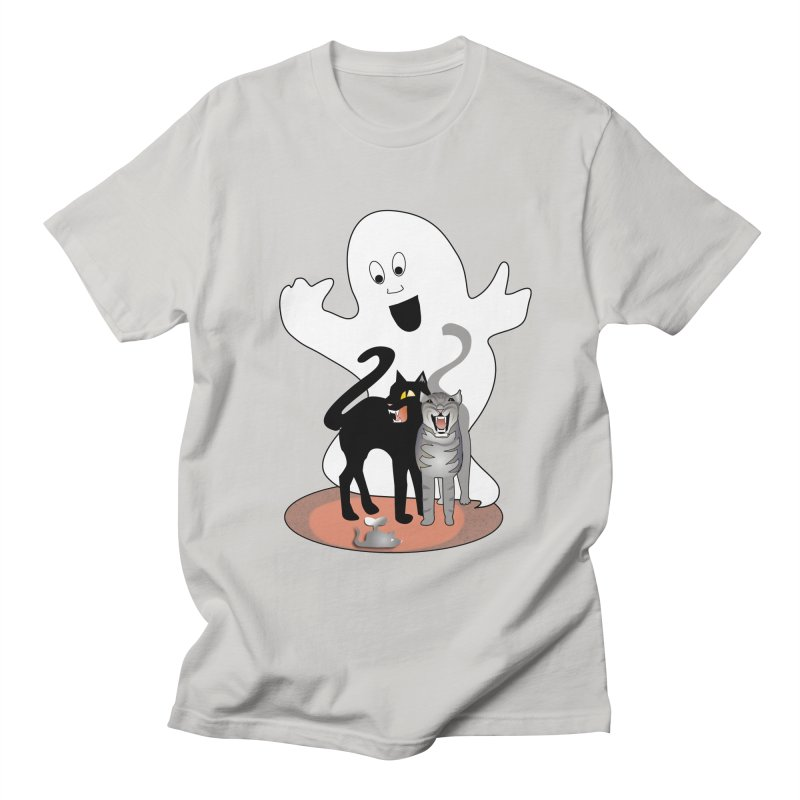 Scaredy Men's T-Shirt by Patricia Howitt's Artist Shop