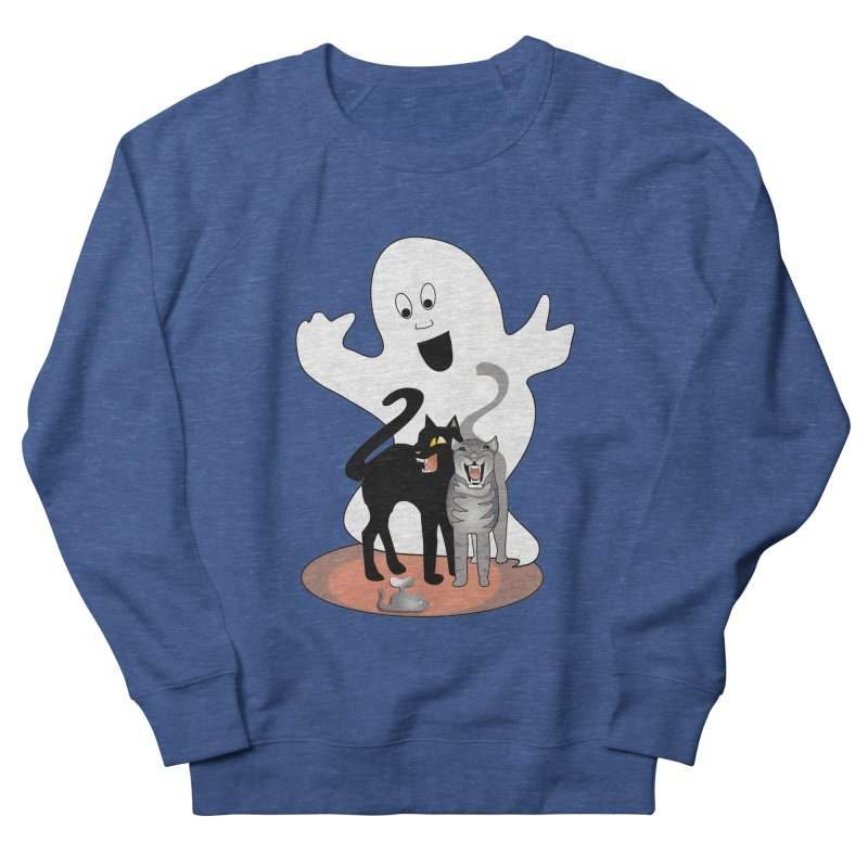 Scaredy Men's Sweatshirt by Patricia Howitt's Artist Shop
