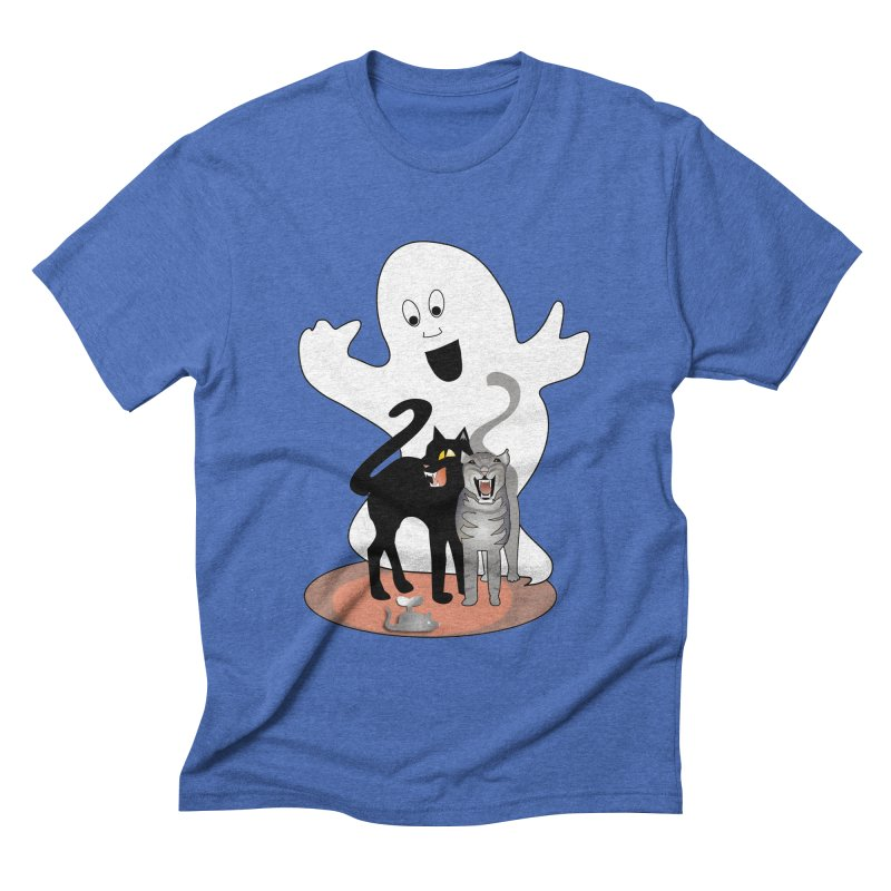 Scaredy Men's Triblend T-shirt by Patricia Howitt's Artist Shop