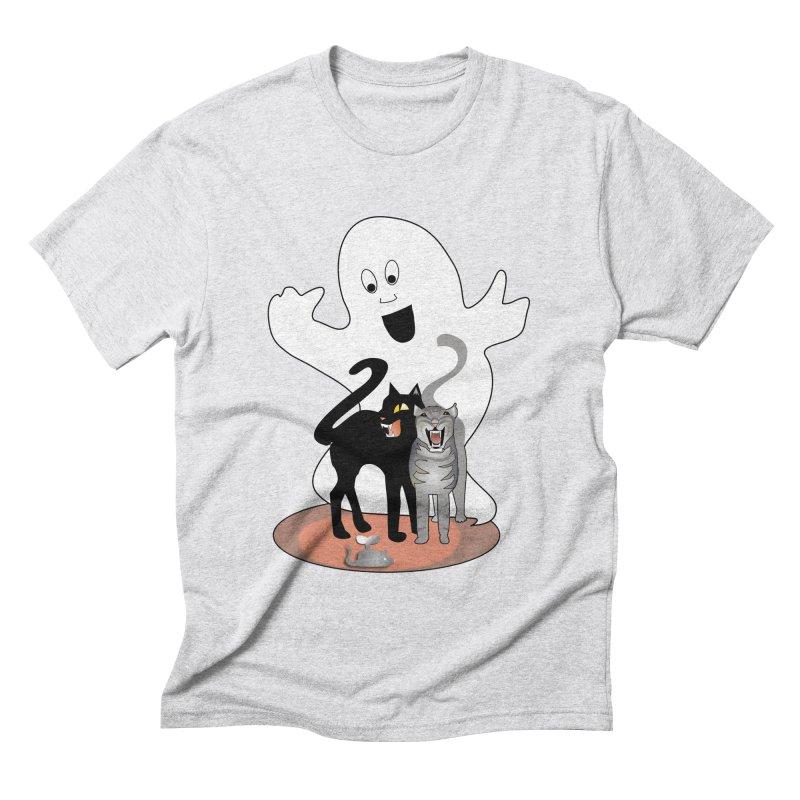 Scaredy Men's Triblend T-Shirt by Patricia Howitt's Artist Shop