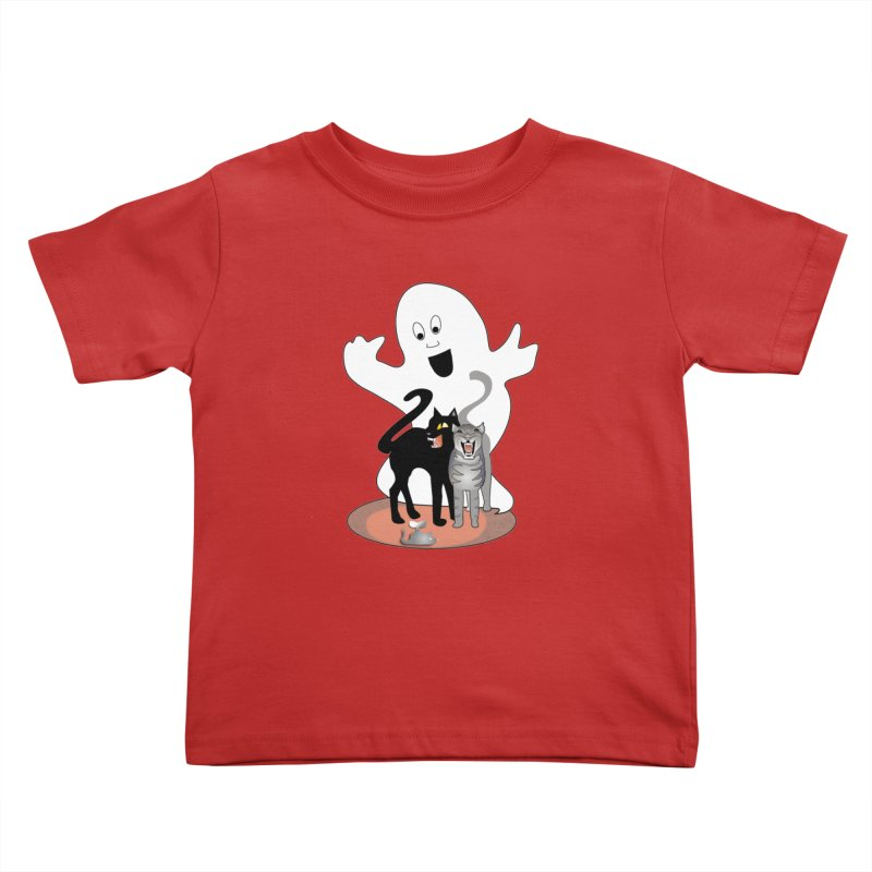 Scaredy Kids Toddler T-Shirt by Patricia Howitt's Artist Shop
