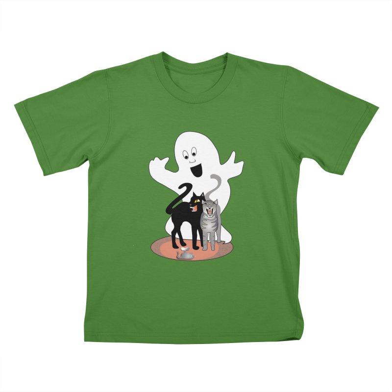 Scaredy Kids T-Shirt by Patricia Howitt's Artist Shop