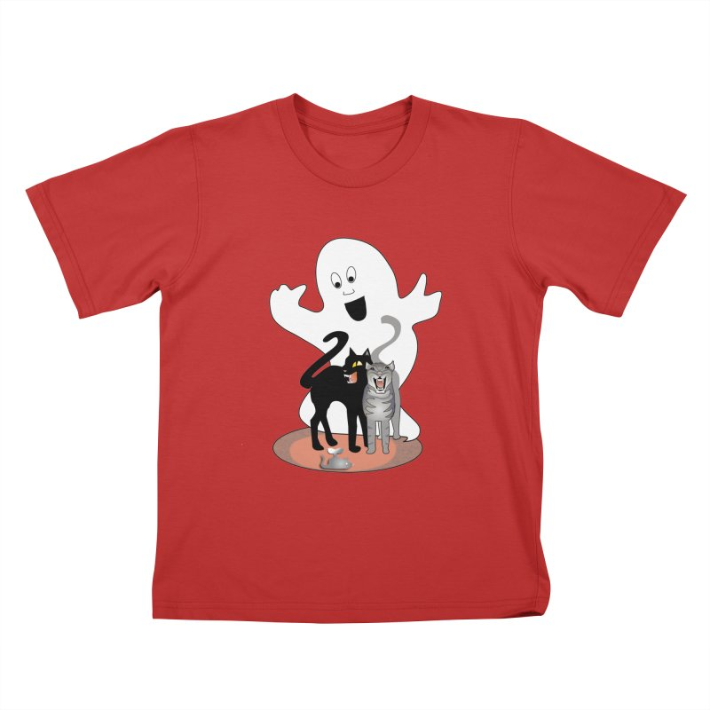 Scaredy Kids T-Shirt by Patricia Howitt's Artist Shop