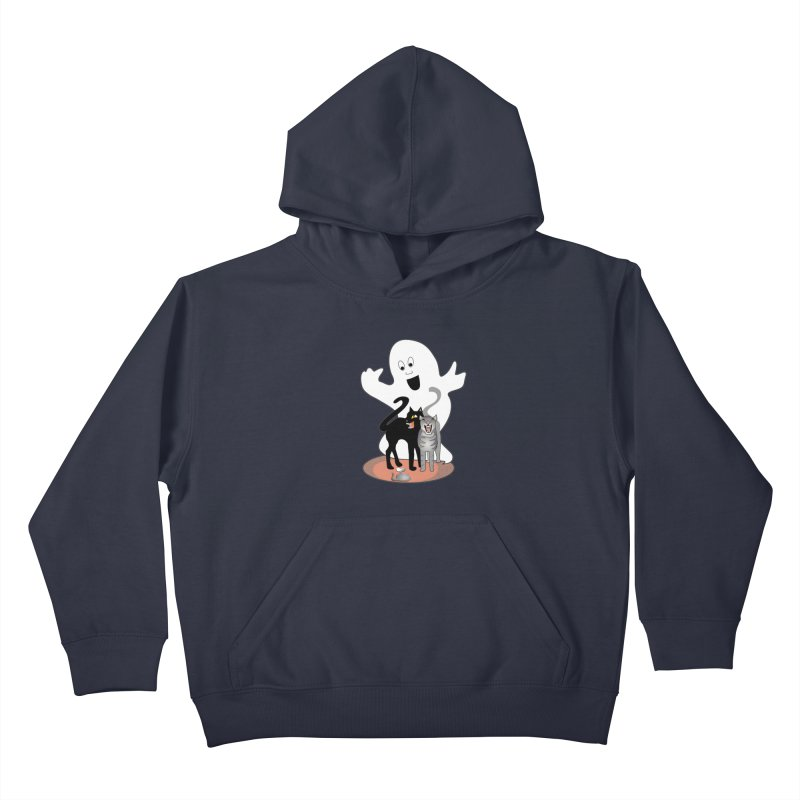 Scaredy Kids Pullover Hoody by Patricia Howitt's Artist Shop
