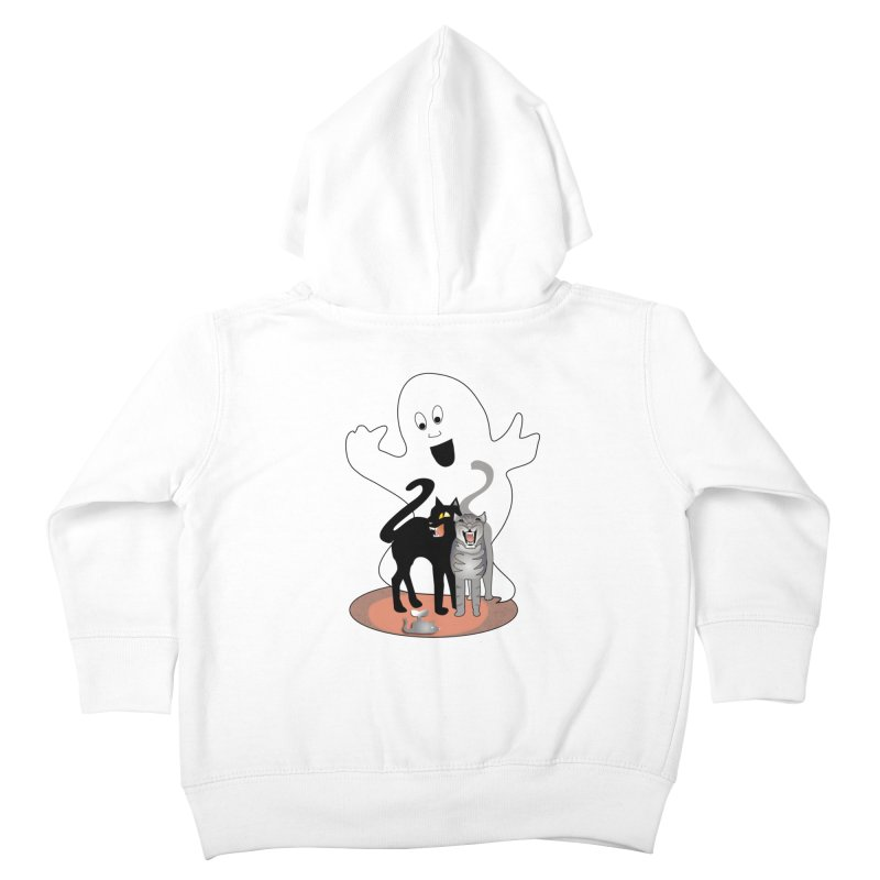 Scaredy Kids Toddler Zip-Up Hoody by Patricia Howitt's Artist Shop