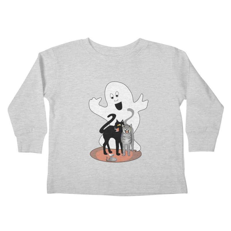 Scaredy Kids Toddler Longsleeve T-Shirt by Patricia Howitt's Artist Shop