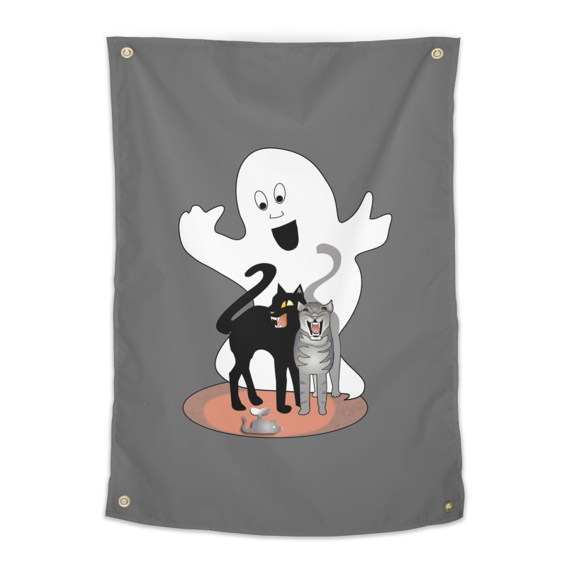 Scaredy Home Tapestry by Patricia Howitt's Artist Shop