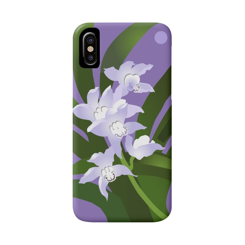 Orchid Moon Accessories Phone Case by Patricia Howitt's Artist Shop